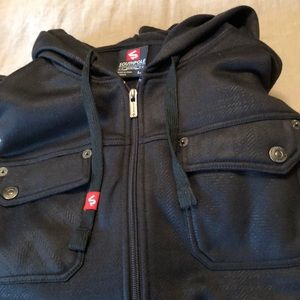 Men's zip-up, hooded sweatshirt, Southpole